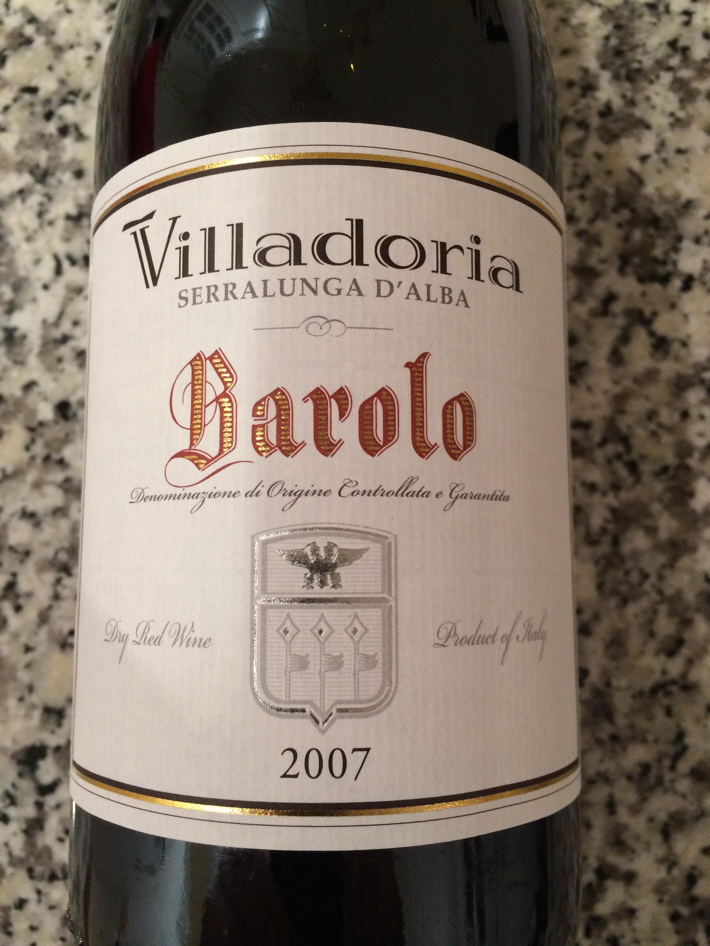 Villadoria Barolo 2007