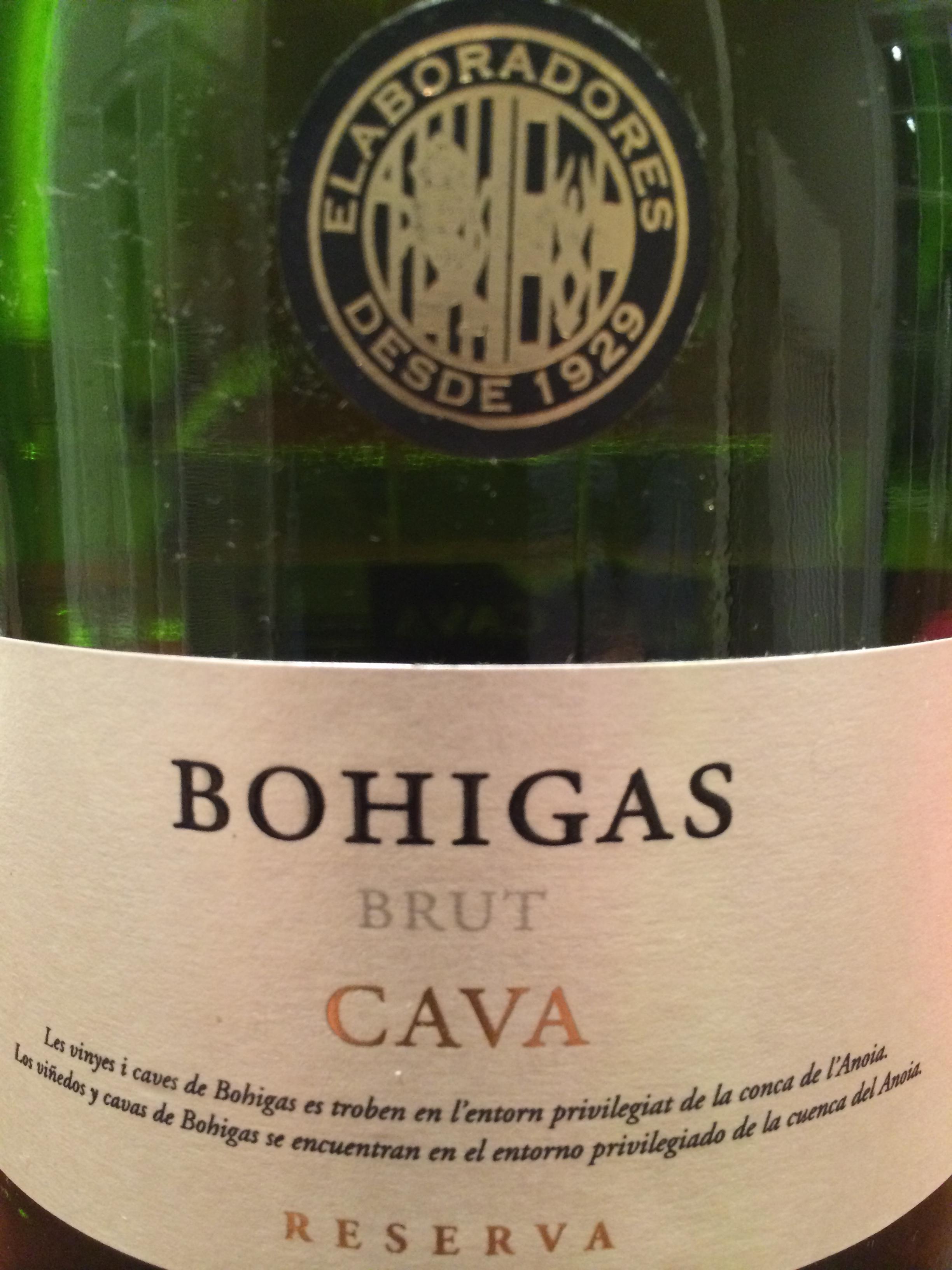 Bohigas Brut Cava