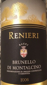 Renieri Brunello 2006