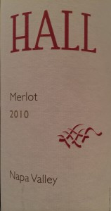 Hall 2010 Merlot
