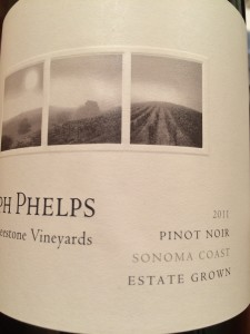Phelps 2011 Freeston Vineyards Pinot