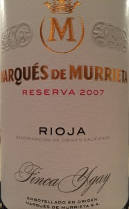 Marques de Murrieta 2007 Res