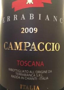 Terrabianco 2009 Campaccio2