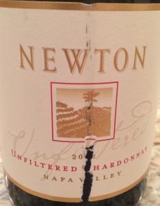 Newton 2012 Napa Chard Unfiltered