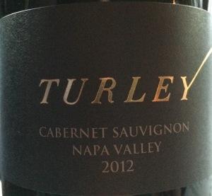 Turley Napa Cab 2012