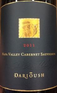 Darioush 2011 Cab