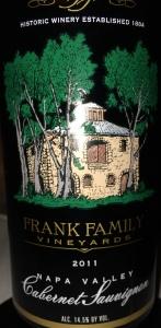 Frank Family 2011 Cab