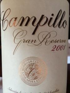 Campillo 2001 Gran Reserva
