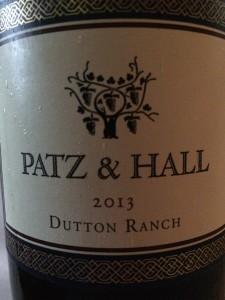Patz&Hall 2013 Dutton ranch Chard