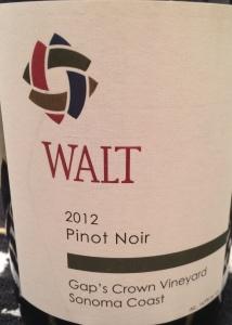 Walt 2012 Gap's Crown Pinot Noir