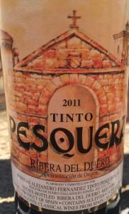Tinto Pesquera 2011