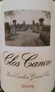 Clos Canon 2009