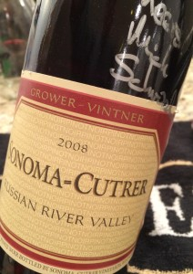 Sonoma Cutrer 2008 Pinot