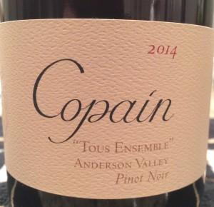 Copain Pinot 2014