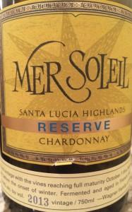 Mersoleil 2013 Chard