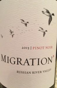 Migration Pinot 2012