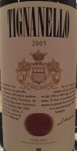 Tignanello 2005