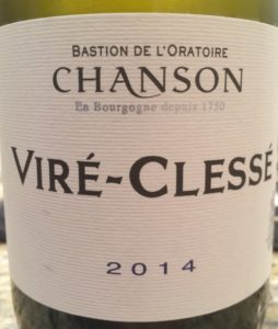 Chanson Vire-Clesse 2014