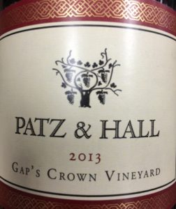 Patz-Hall Gaps Crown Pinot 2013
