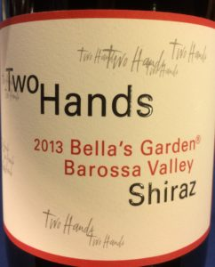 TwoHands 2013 Bella Garden Shiraz