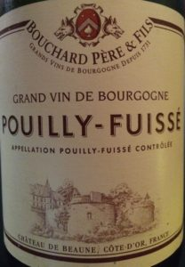 Bouchard Pouilly 2012