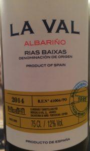 LaVal Albarino 2014