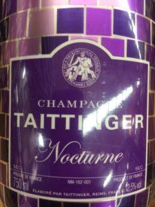 Taittinger Nocturne NV Disco
