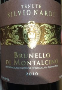 Tenuta Nardi Brunello 2010