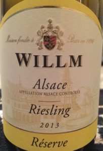 Willm 2013 Riesling