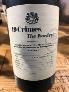 19Crimes Warden 2015