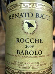 Renato Ratti Rocche 2009